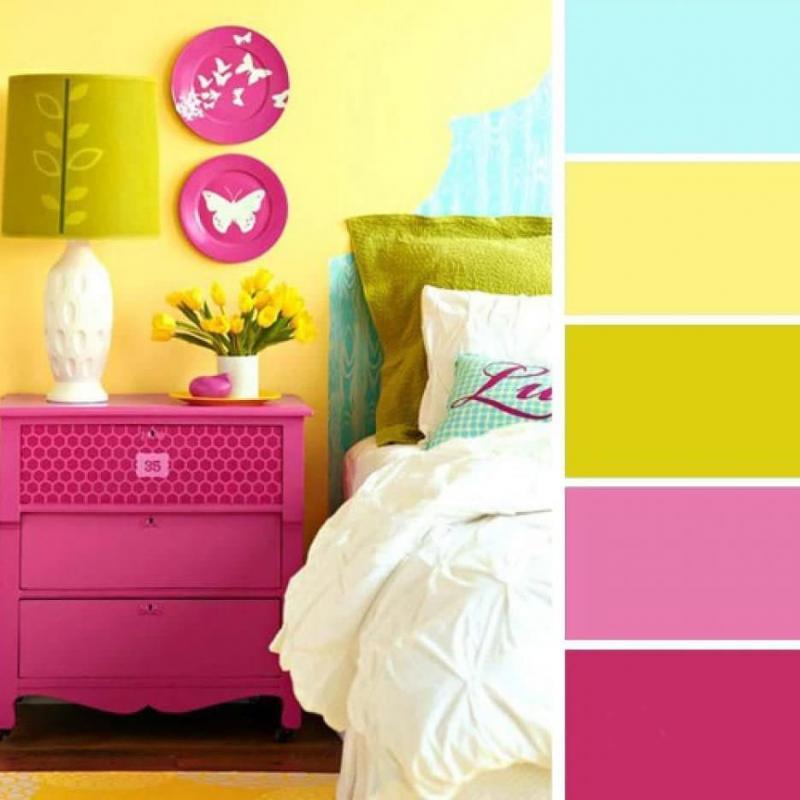 Цветовая схема по фото 5