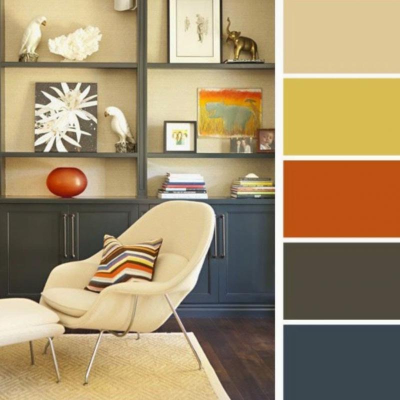 Цветовая схема по фото 8