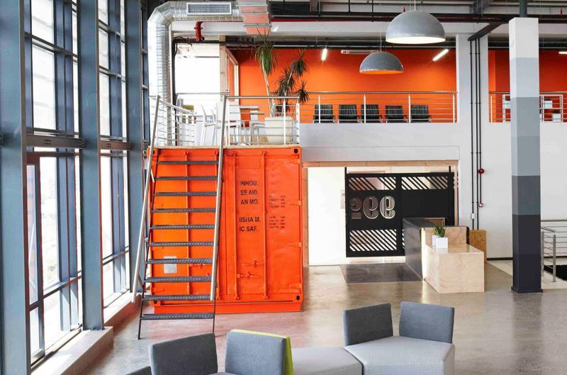 Оранжевый цвет в интерьере 1