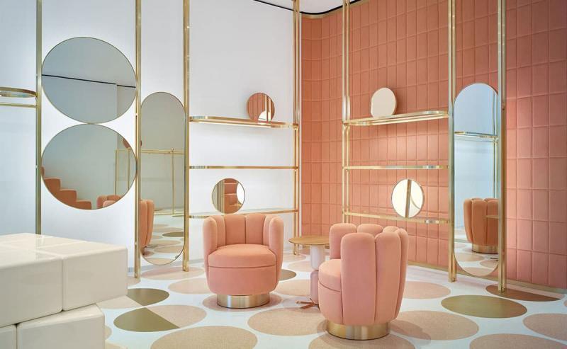 Розовый цвет в интерьере 3