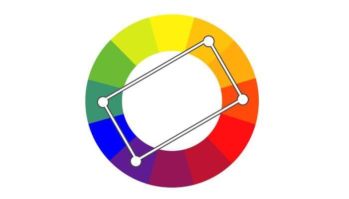 Сочетание нескольких цветов 1