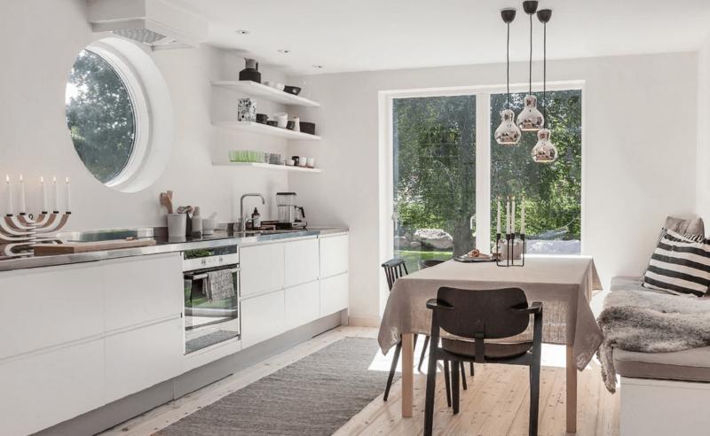 Кухня в скандинавском стиле 1