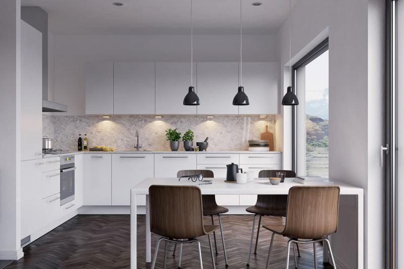 Кухня в скандинавском стиле 3