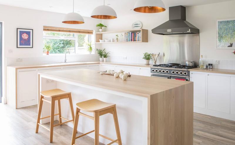 Кухня в скандинавском стиле 9