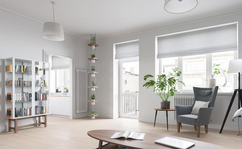 Растения в скандинавском интерьер 5