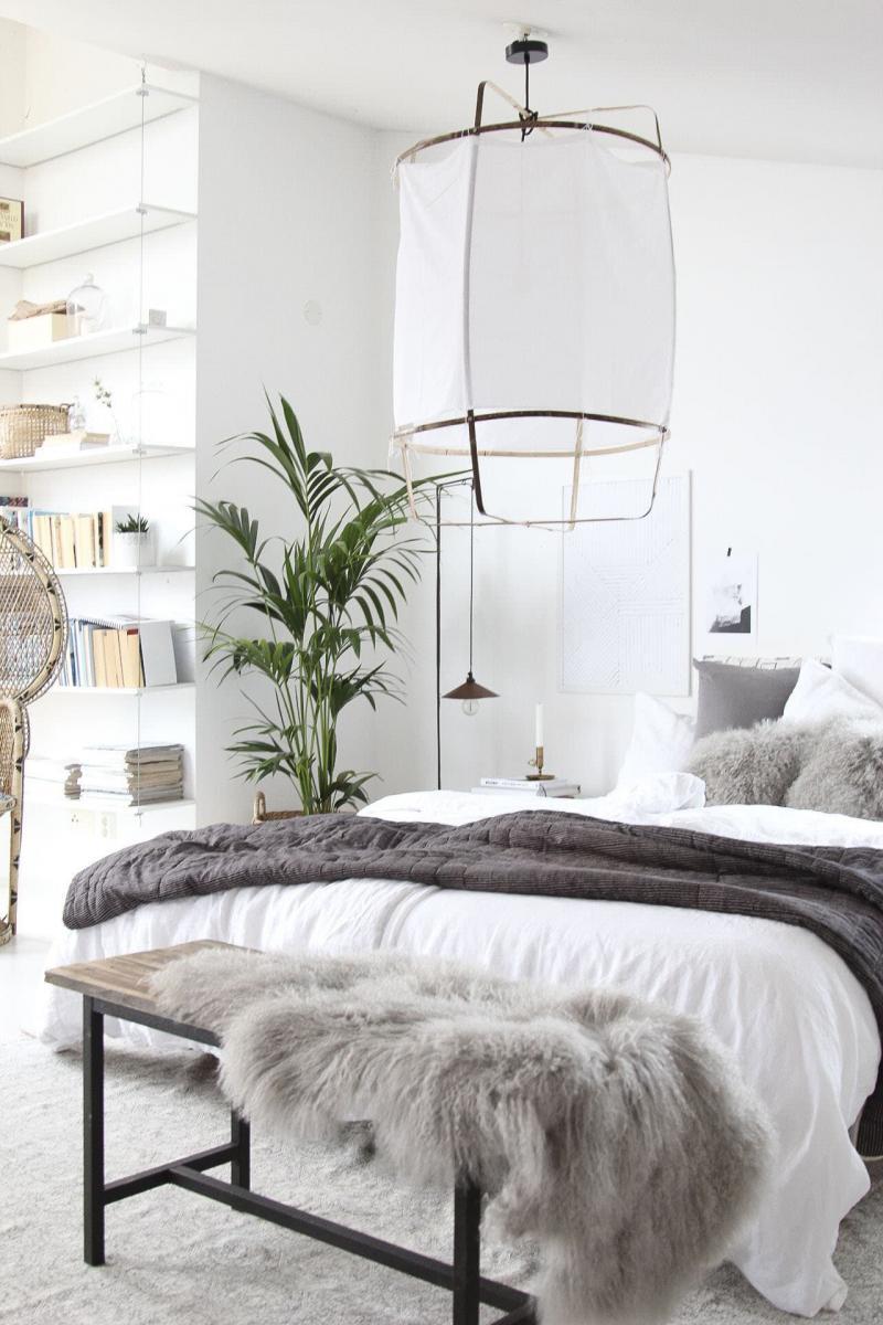Спальня в скандинавском стиле 1