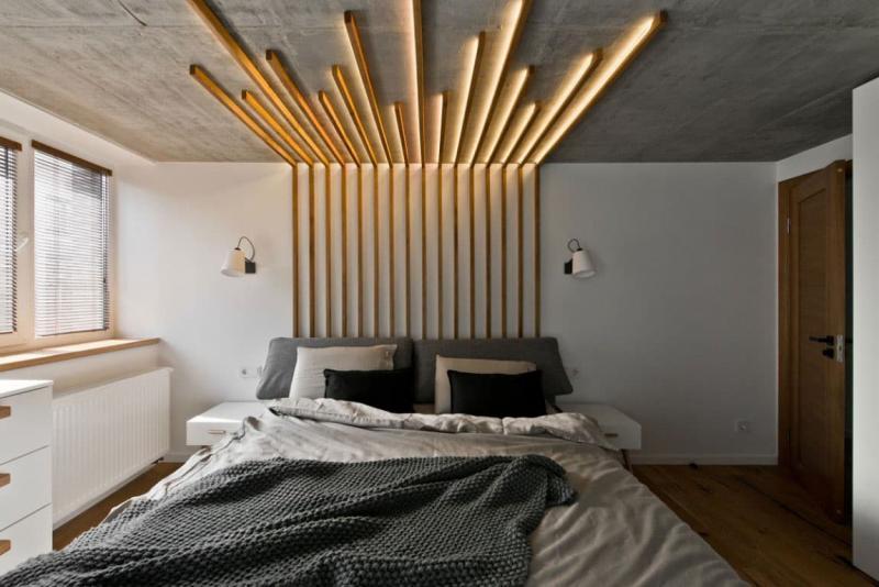 Спальня в скандинавском стиле 3
