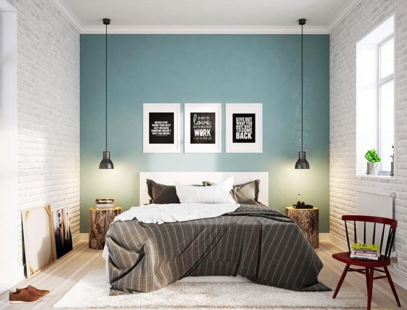 Спальня в скандинавском стиле 4