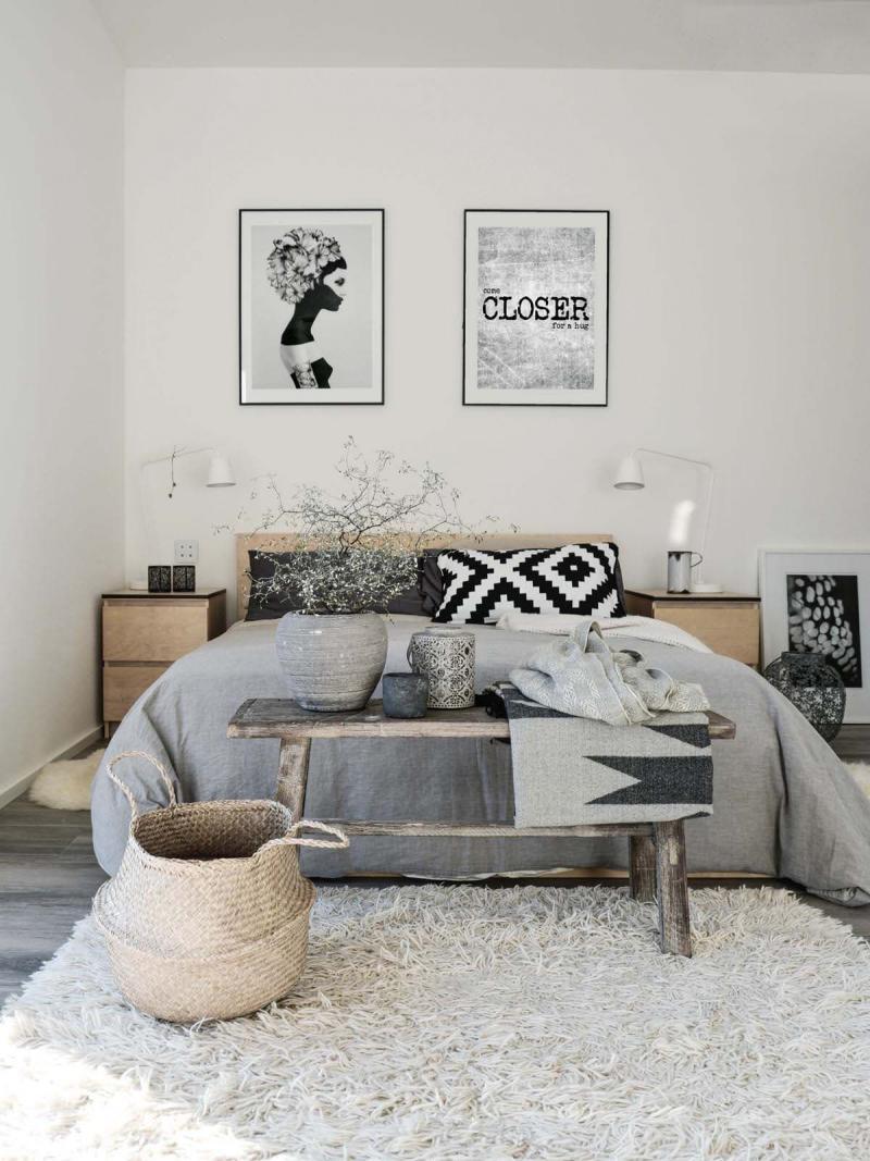 Спальня в скандинавском стиле 7