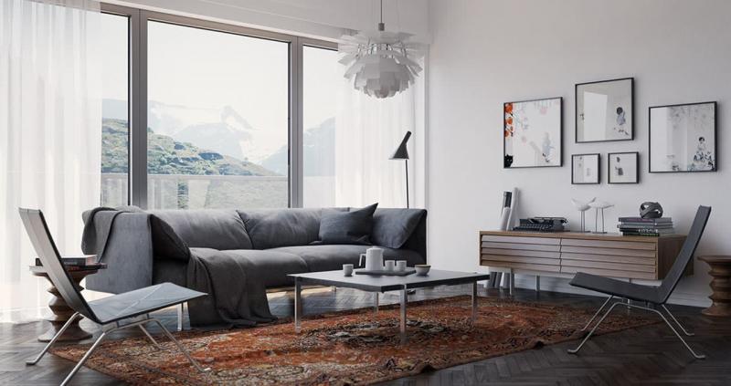 Текстиль в скандинавском стиле 1