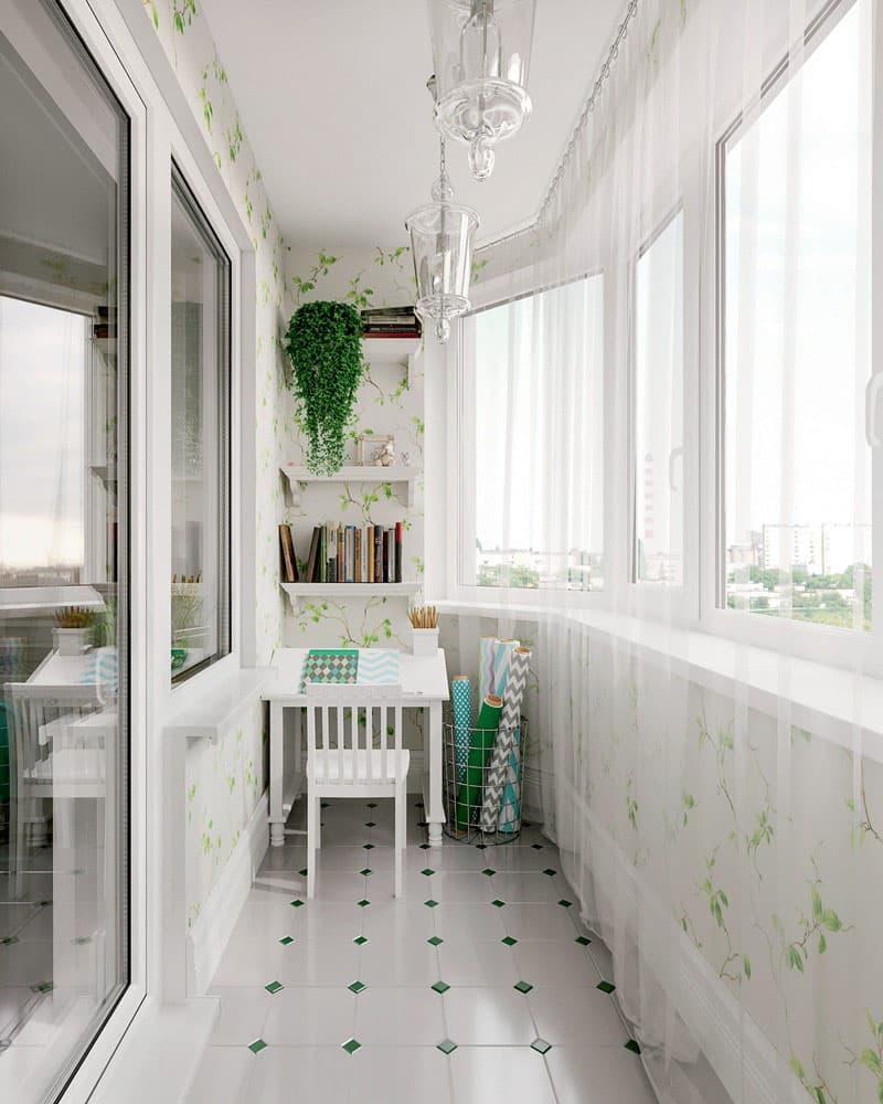 Балкон в стиле прованс 1