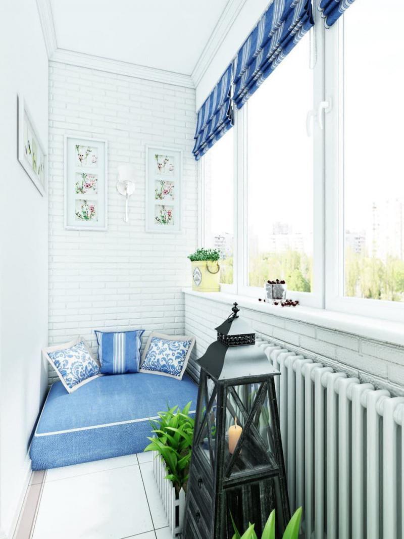 Балкон в стиле прованс 3