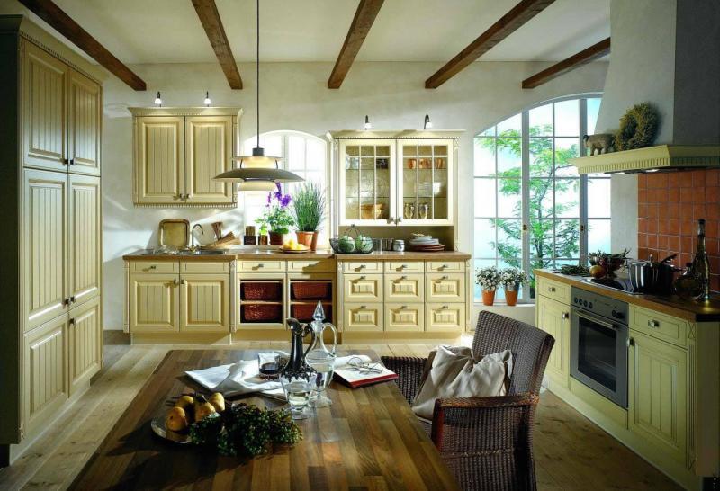Кухня в стиле прованс 5