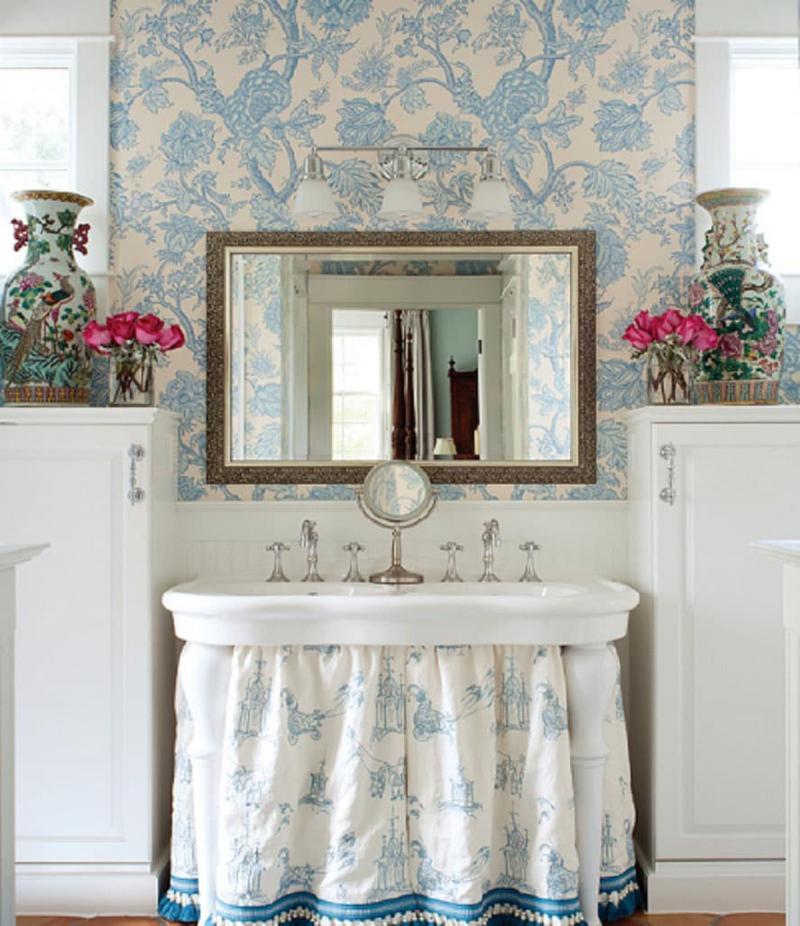 Ванная комната в стиле прованс 4