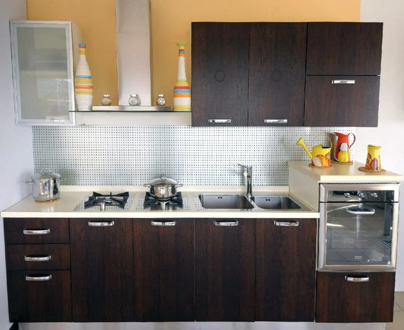 Фасады для маленькой кухни 3