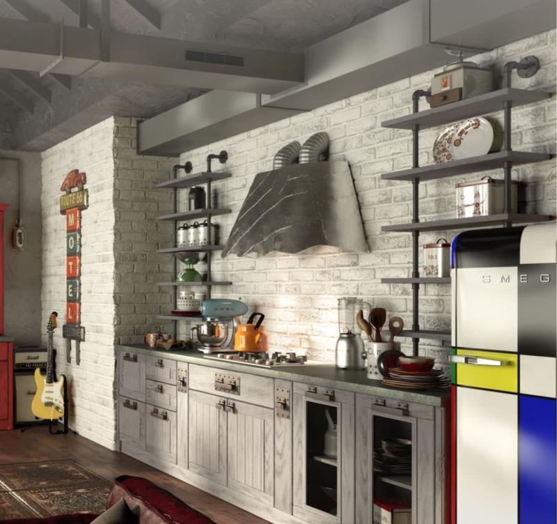 Кухня Трио 1