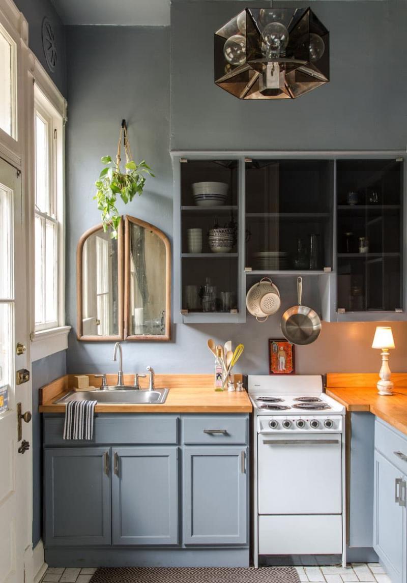 Освещение в маленькой кухне 2