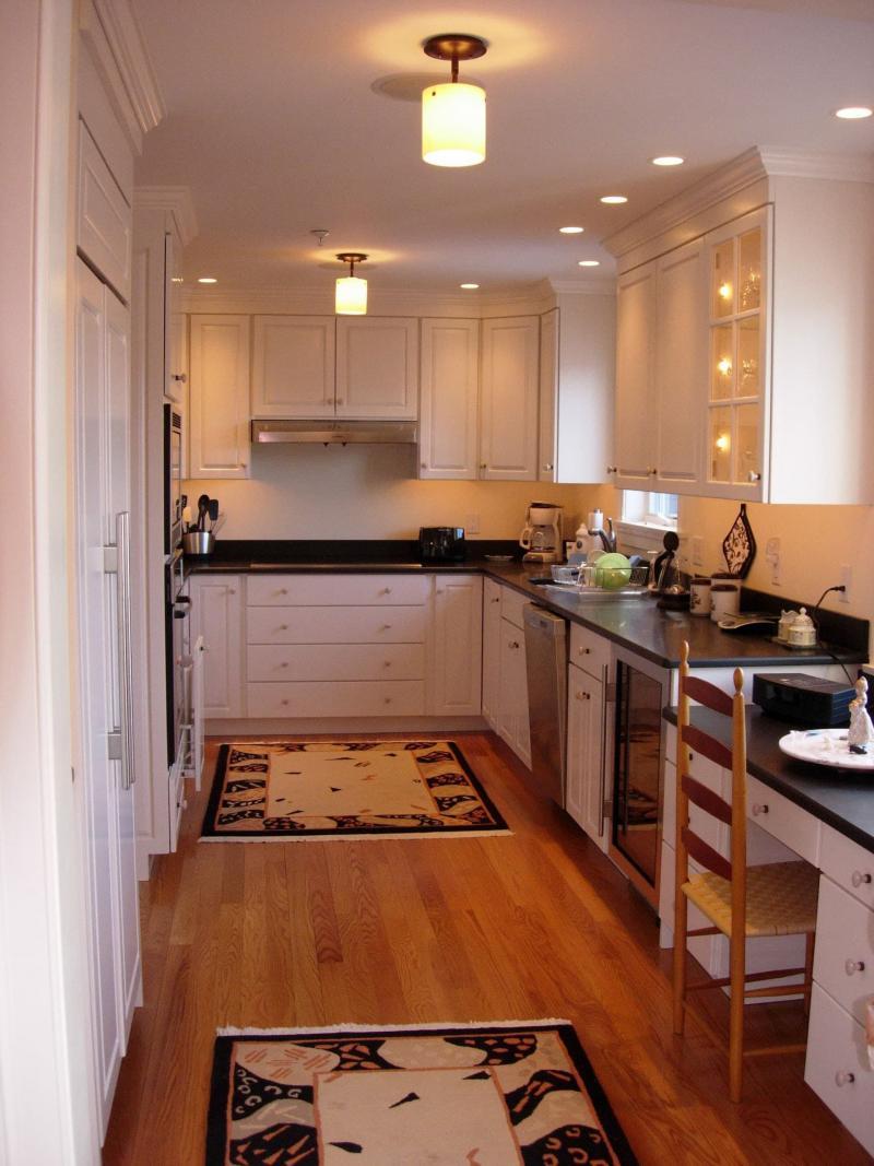 Освещение в маленькой кухне 3
