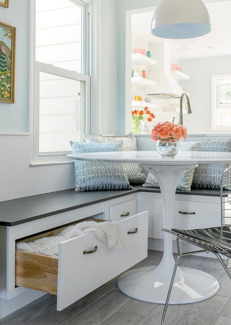 Системы хранения в маленькой кухне 1