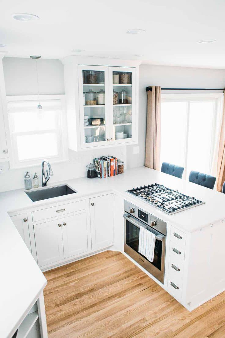 Системы хранения в маленькой кухне 3
