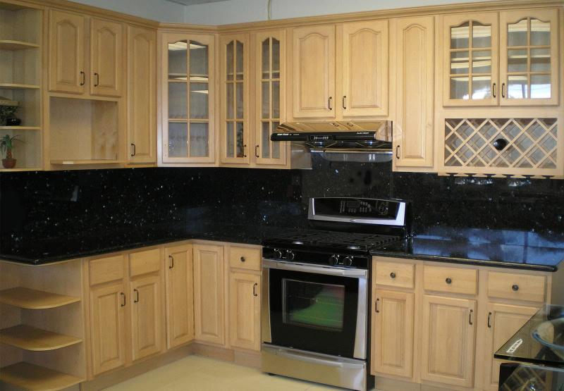 Бежевая угловая кухня 2