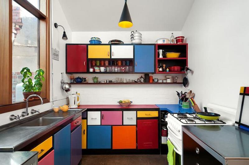 Эклектичная угловая кухня 5_1