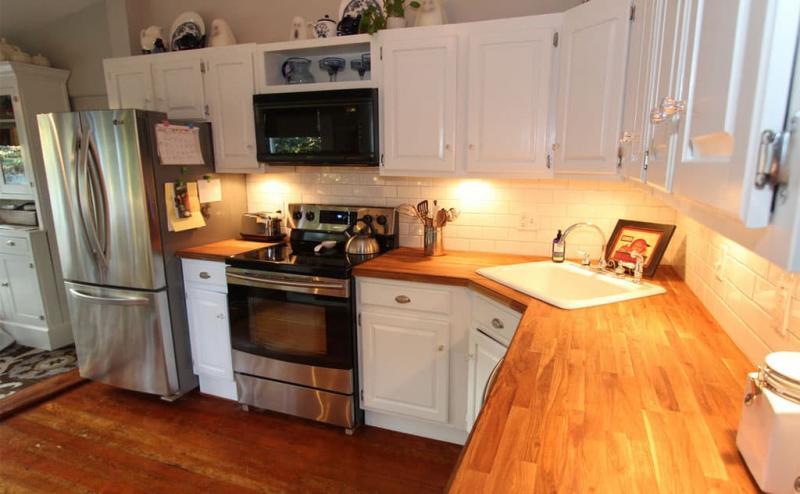 Кухня с угловой мойкой 6