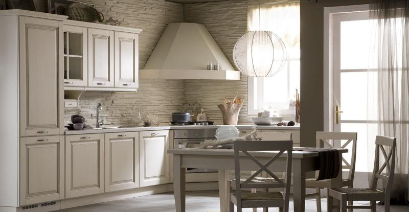 Кухня с угловой вытяжкой 6
