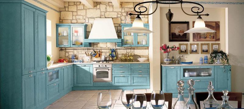 Прованская угловая кухня 2