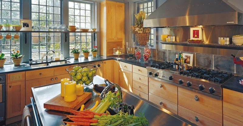 Угловая кухня 12 кв.м 4