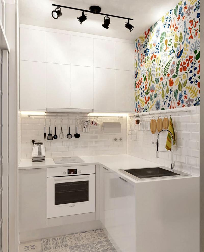 Угловая кухня 4 кв.м 3
