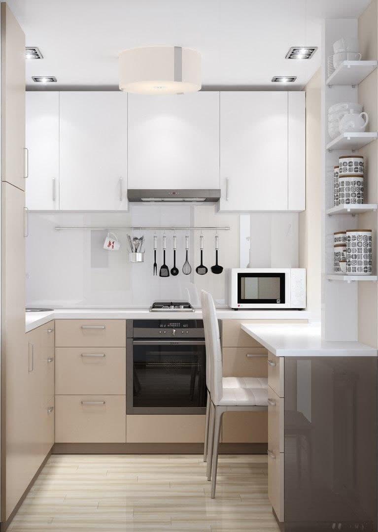 Угловая кухня 5 кв.м 2