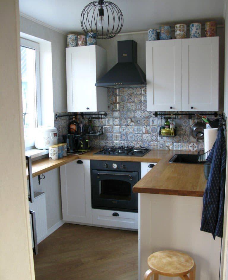 Угловая кухня 5 кв.м 3