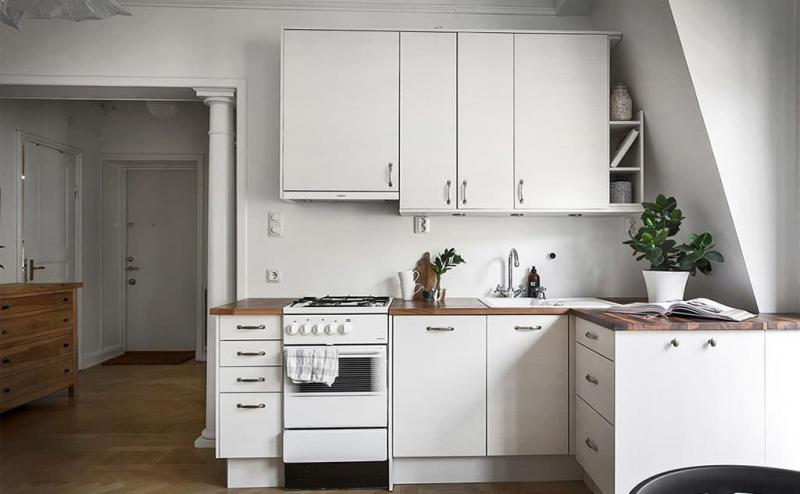Угловая кухня 8 кв.м 4