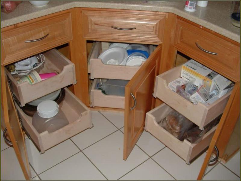 Угловой модуль для кухни (нижняя линия) 1