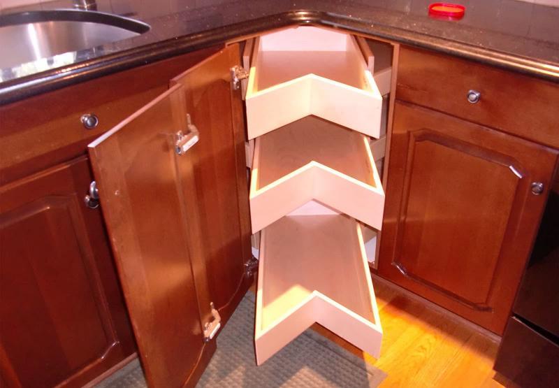 Угловой модуль для кухни (нижняя линия) 6