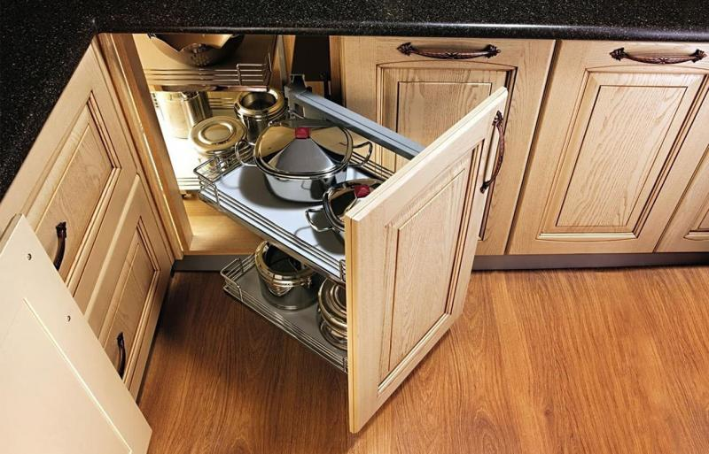 Угловой модуль для кухни (нижняя линия) 7