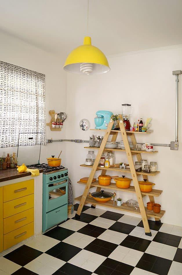 Кухня 6 кв. м в стиле эклектика 3