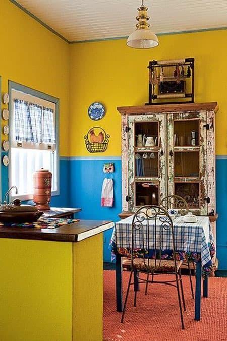 Кухня 6 кв. м в стиле эклектика 5