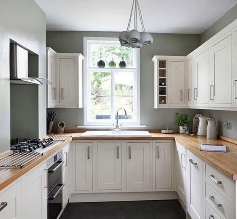 Кухня 6 кв. м в стиле классическом 4