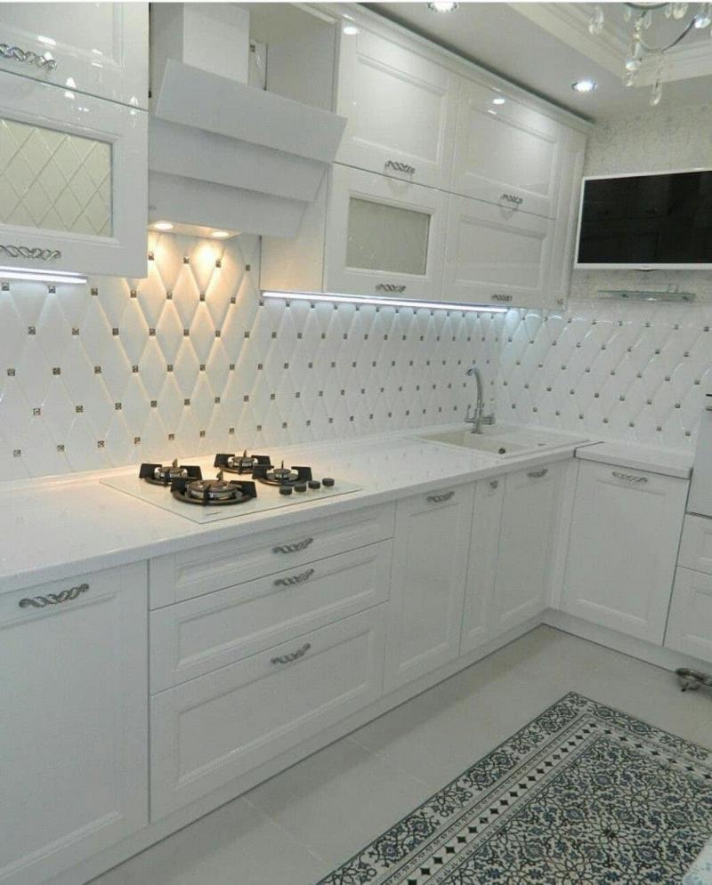 Кухня 6 кв. м в стиле классическом 5