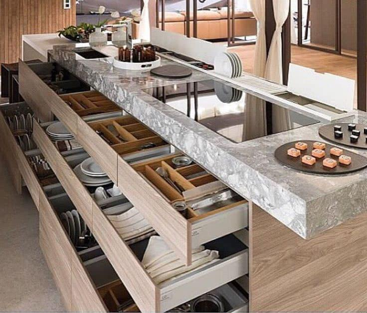 Многоярусный кухонный гаринтур 3