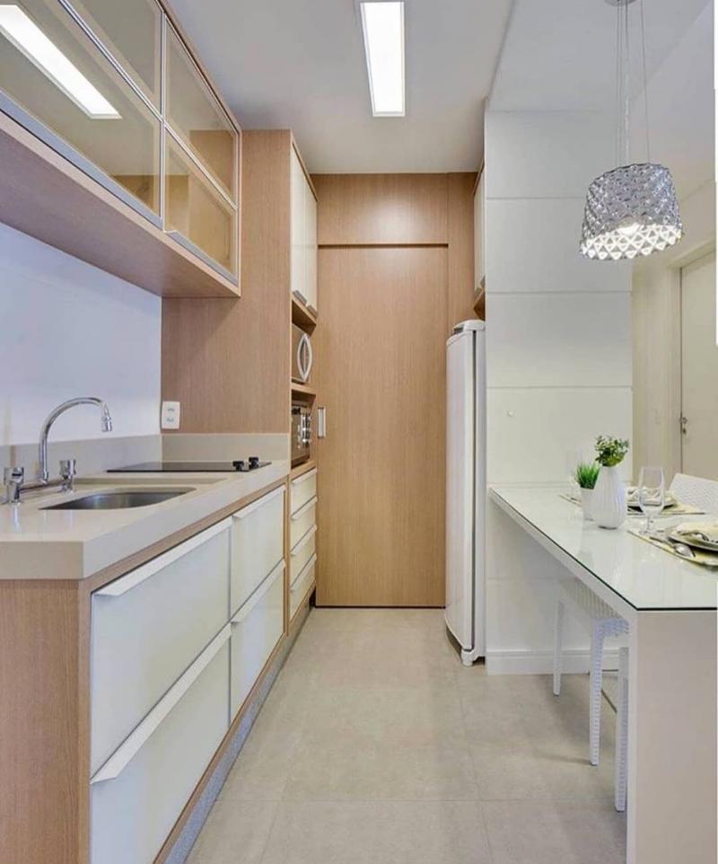 Однорядная кухня 6 кв.м 4