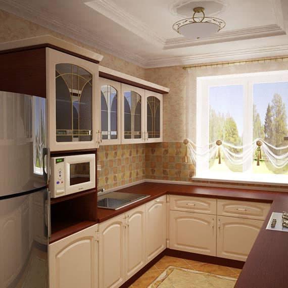 Особенности кухни 6 кв. м 1