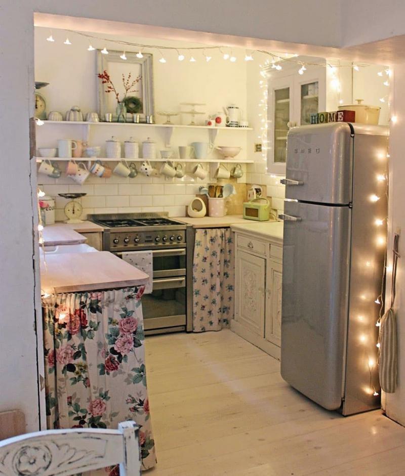 Освещение в кухне 6 кв. м 3