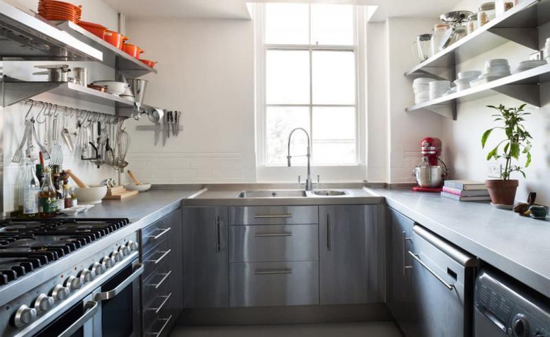 П-планировка в кухн 6 кв.м 2