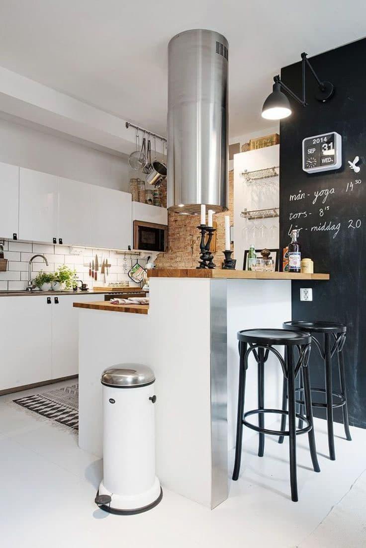 Параллельная планировка кухни 6 кв.м. 1