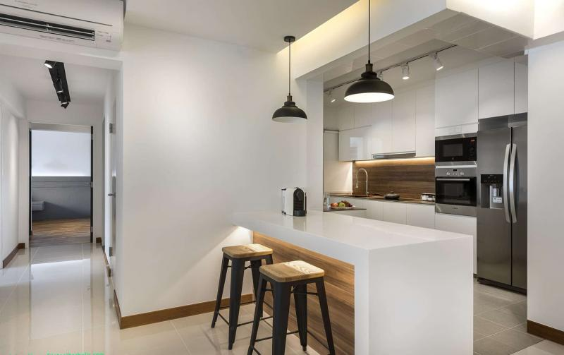 Параллельная планировка кухни 6 кв.м. 3