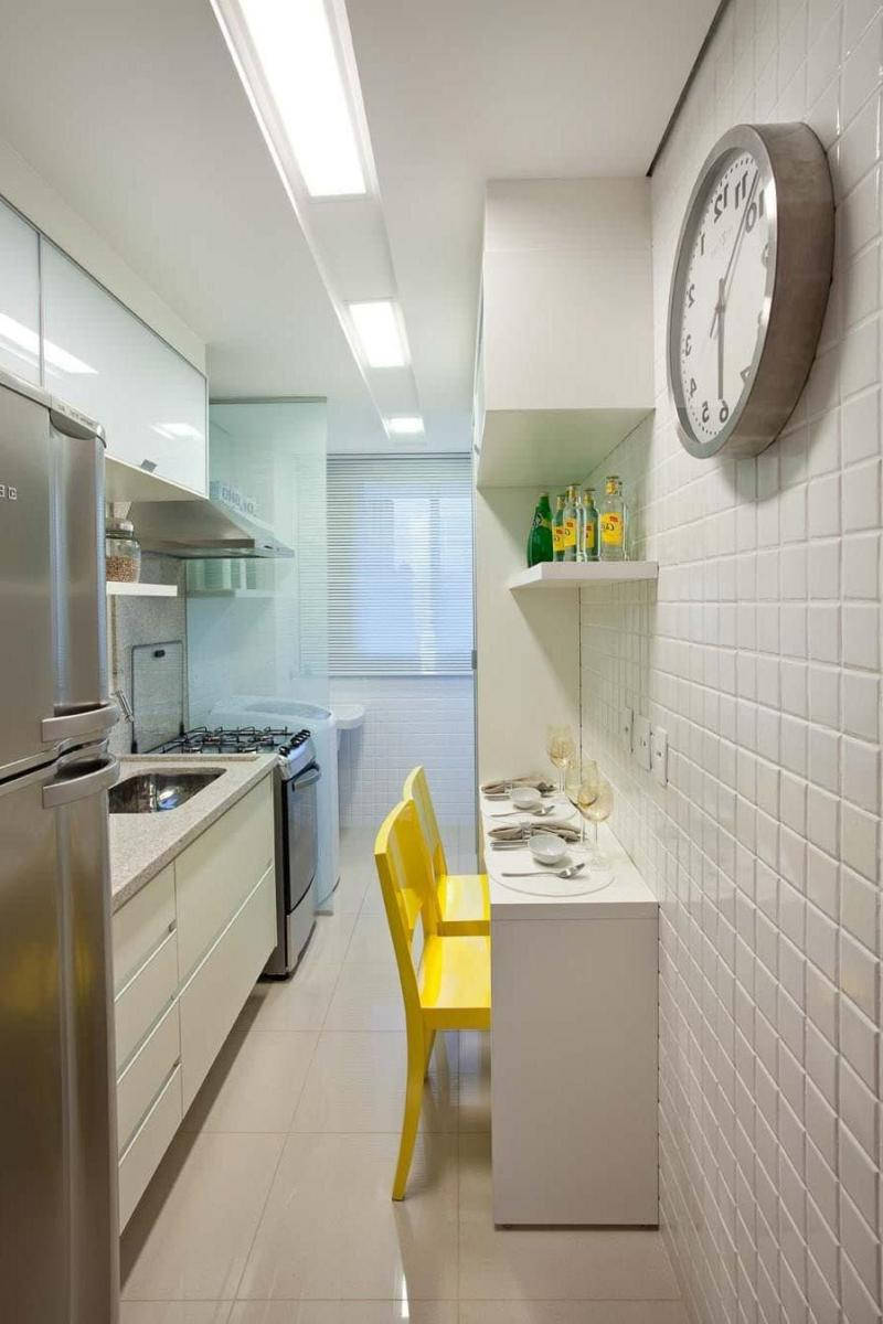 Параллельная планировка кухни 6 кв.м. 5