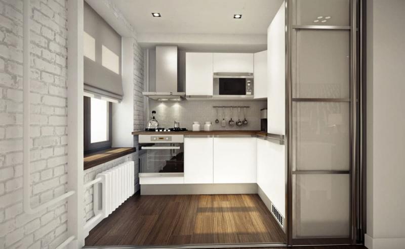 Угловая кухня 6 кв. м 1